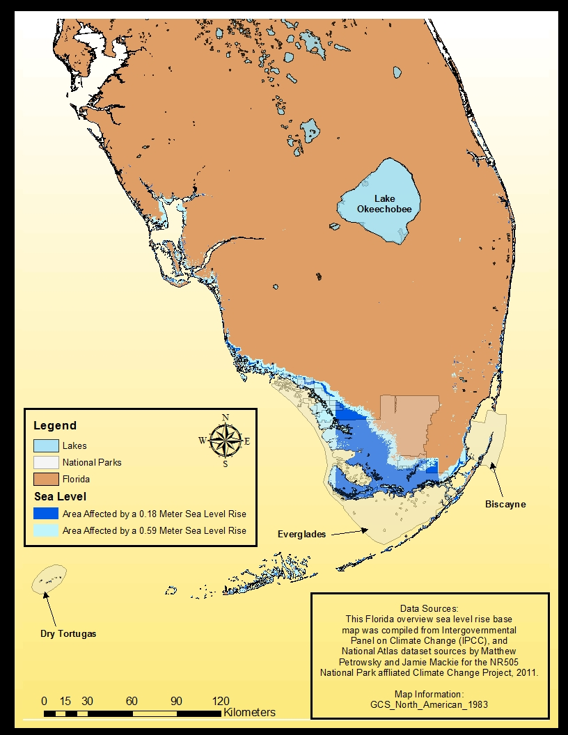 NR Results - Sea level rise map florida